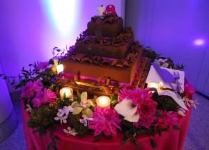 MOCA Wedding Cake