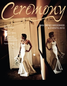 Positive Energy DJ Wedding Featured on Ceremony Magazine Cover