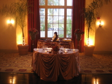 San Diego Wedding Table Linens