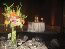 Omni San Diego Wedding Cake & Flowers