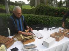 Hilton La Jolla Torrey Pines Wedding Cigar Roller