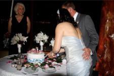 Bali Hai Wedding Cake