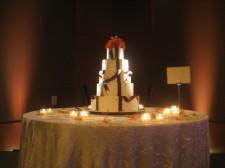 Omni San Diego Wedding DJ - Cake Spotlighting