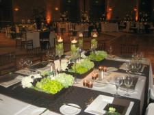 Hilton La Jolla Torrey Pines Wedding Centerpieces Low