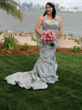 Bali Hai Wedding Blue Dress