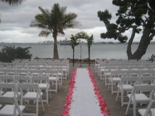 Bali Hai Remodeled Wedding Ceremony Site