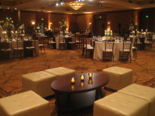 Hilton La Jolla Torrey Pines Wedding Lounge Furniture