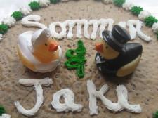"""W Hotel San Diego Wedding Cookie """"Cake"""""""