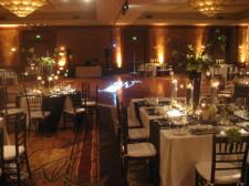 Hilton La Jolla Torrey Pines Wedding Monogram Gobo Projection 2