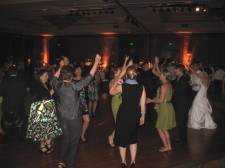 Hilton La Jolla Torrey Pines Wedding DJ Dance