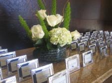 Rancho Bernardo Inn Wedding Name Cards