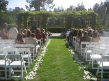 Rancho Bernardo Inn Wedding Ceremony Aragon Lawn