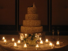 Rancho Bernardo Inn Wedding Cake NO LIGHTS