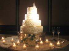 Rancho Bernardo Inn Wedding Cake WITH LIGHTS