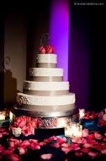 MOCA Wedding Cake with LIGHTING