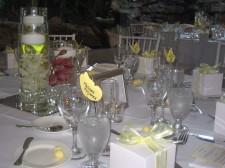 Pala Mesa Resort Wedding Name Cards