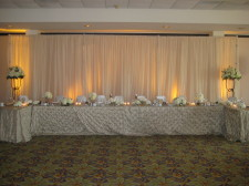 Kona Kai Wedding Fabric Backdrop
