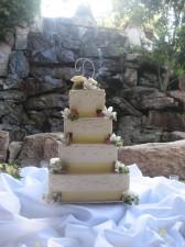 Pala Mesa Resort Wedding Cake