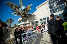 MOCA Patio Wedding Ceremony