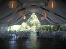 Pala Mesa Resort Wedding Tent 2