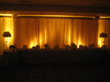 Kona Kai Wedding Fabric Backdrop 2