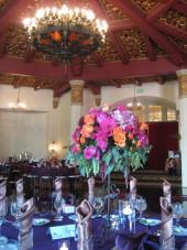 El Cortez San Diego Wedding Centerpiece