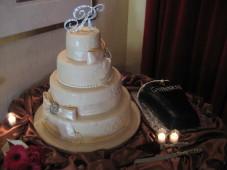 El Cortez San Diego Wedding Cake