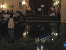 El Cortez San Diego Wedding Gobo Monogram Projection