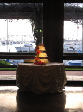 Marina Village Seaside Cake Spotlighting