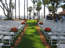 Marina Village South Lawn San Diego Ceremony DJ