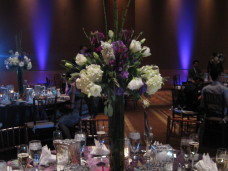 Omni San Diego Wedding Centerpieces & Uplights