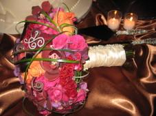El Cortez San Diego Wedding Bride's Bouquet