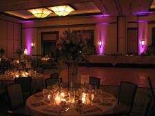 Rancho Bernardo Inn Aragon Ballroom Uplighting