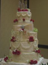 San Diego Wedding Cake No Lights