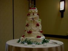 Rancho Bernardo Inn Aragon Wedding Cake No Lights