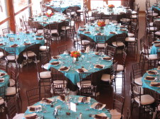 Marina Village Seaside Room Wedding Tables