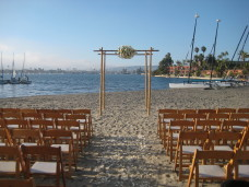 San Diego Bahia Beach Ceremony