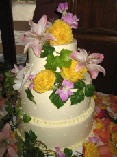 San Diego Bahia Wedding Cake