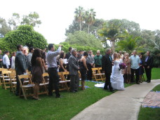 Bahia San Diego Wedding Ceremony