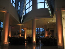 MOCA San Diego Wedding Uplighting