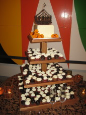 MOCA San Diego Wedding Cake