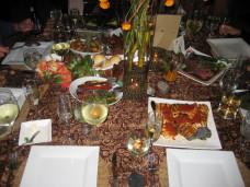 MOCA San Diego Wedding Family Style Dinner