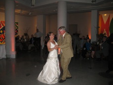 Father Daughter Dance MOCA San Diego Wedding