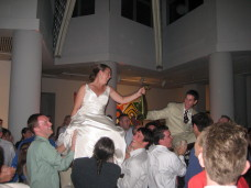 Hora Dance MOCA San Diego Wedding