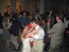 Reception Music MOCA San Diego Wedding