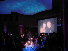 San Diego Wedding Slide Show & Water Lighting
