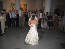MOCA San Diego Wedding First Dance