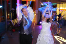 San Diego Wedding Glow Sticks
