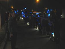 Glow Stick Sendoff Exit San Diego Wedding