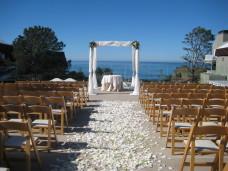 L'Auberge Del Mar Wedding Ceremony